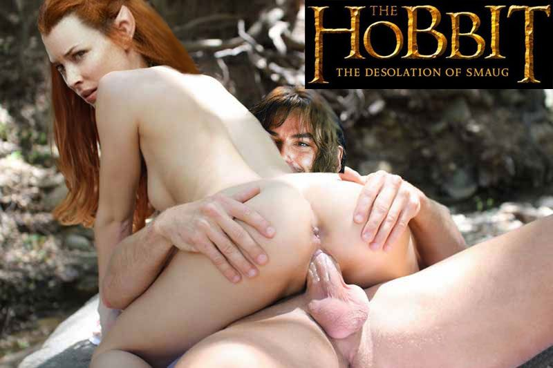 lilly naked evangeline Hobbit