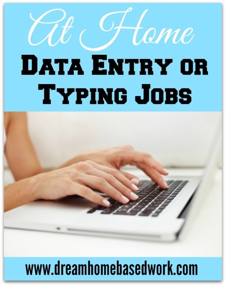 Data Entry Jobs  Legitimate Data Entry from Home
