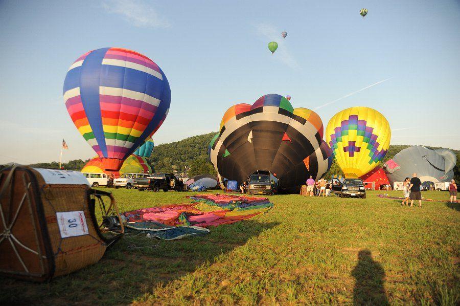 Balloon Festival Warren County NJ Hot air balloon