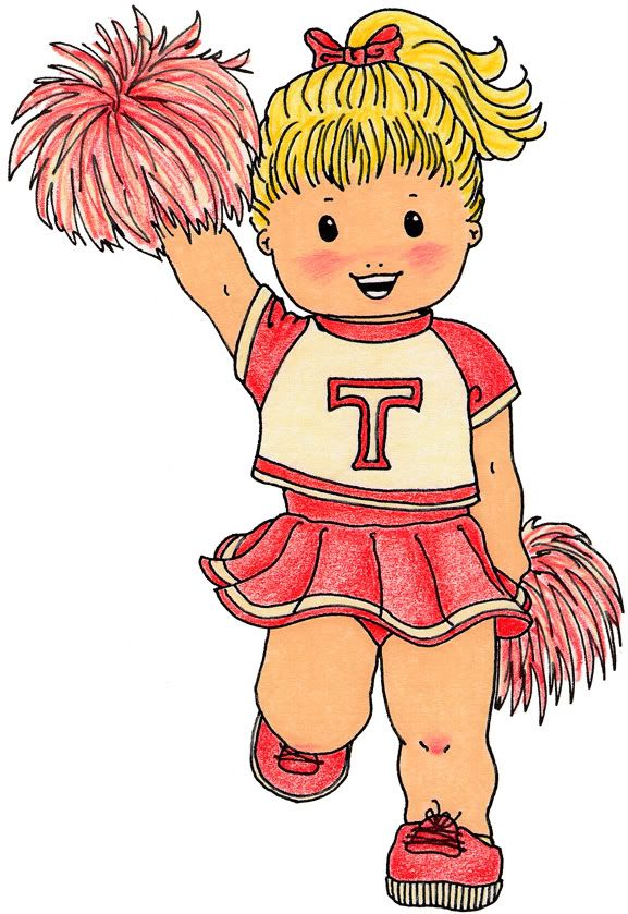 cheerleader sports theme teaching parties crafts scrapbooks rh pinterest com Book Clip Art Family Clip Art Scrapbook