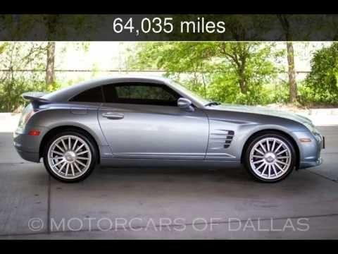 Video Review Of 2007 Chrysler Crossfire Srt6 For Sale Sdsc