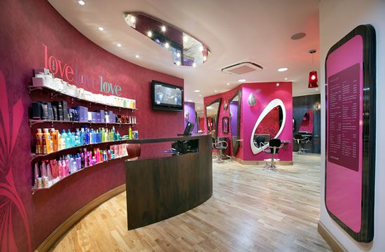 Salon ideas on pinterest hair salons salon design and for Salone design