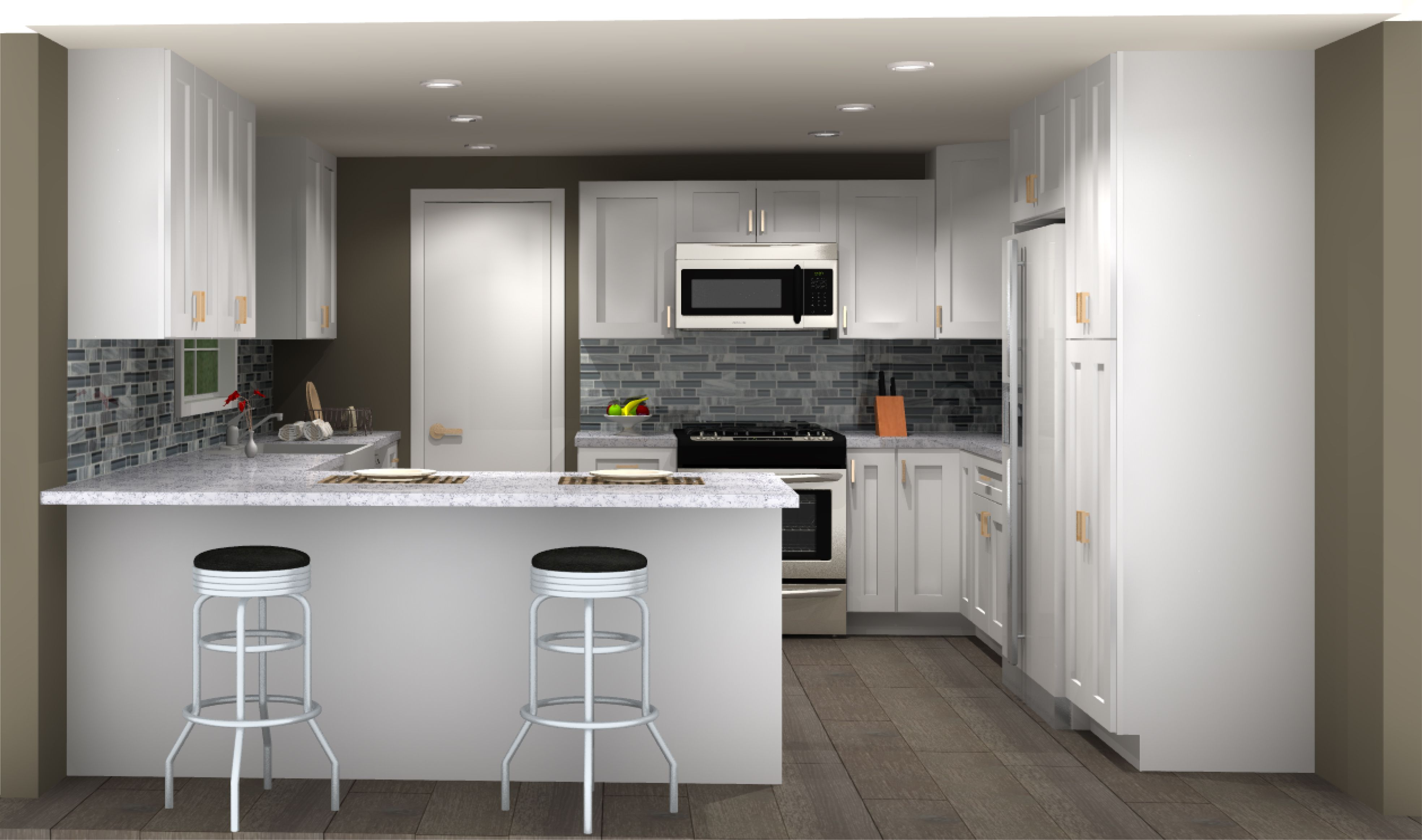 Lily Ann offers FREE 3D kitchen designs. Head to
