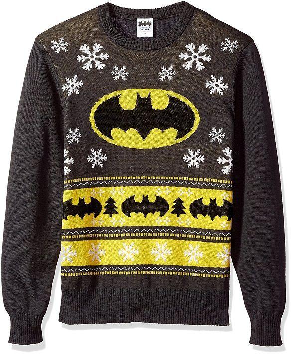 Bats Ugly Christmas Sweater Men/'s Crewneck Sweatshirt