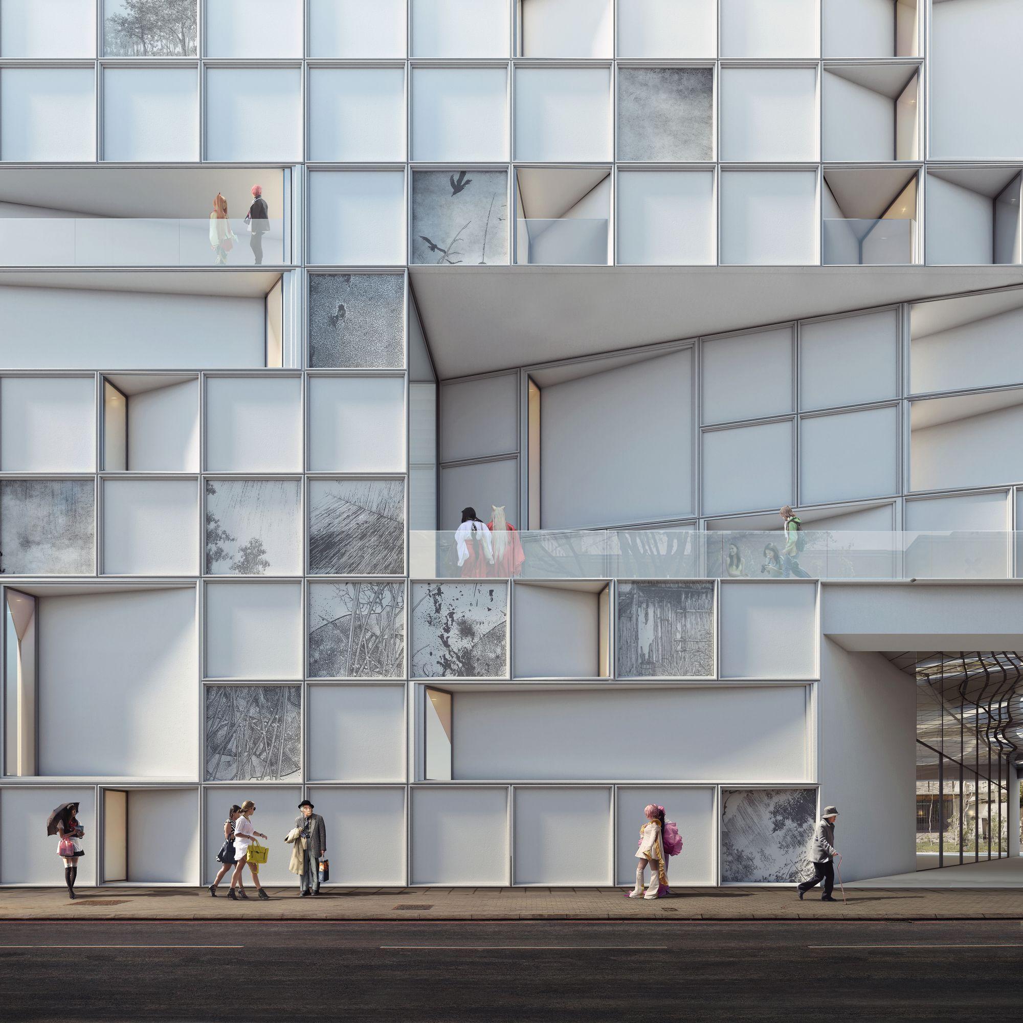 Image Result For Culture Lab Facade Design Architecture
