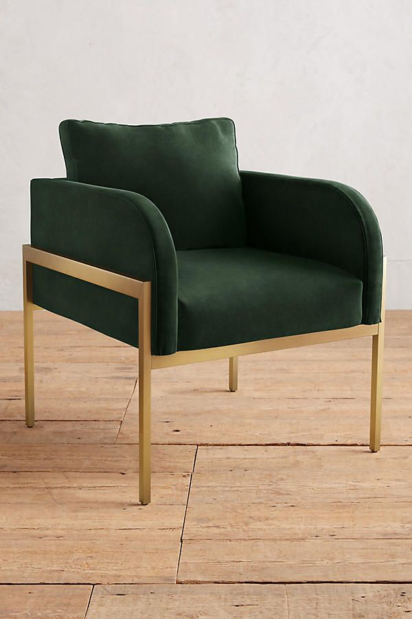 Best Anthropologie Velvet Emerald Chair Home Chair 400 x 300