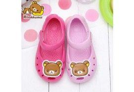 San-x Rilakkuma Kid's Girls Sandles Slippers Shoes KM2699