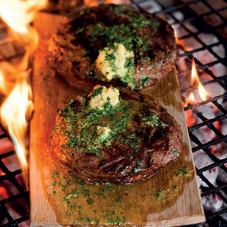 how to cook rump steak on bbq