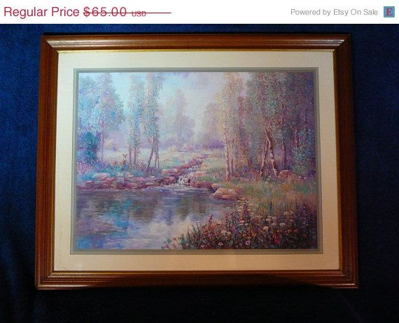 Sale 25 off vintage rare home interiors framed by julianoscorner sold