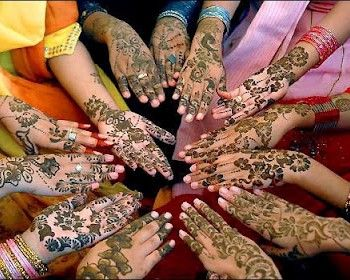 Apply Mehndi Hands : Almost all the ladies are fond of henna designs but young girls