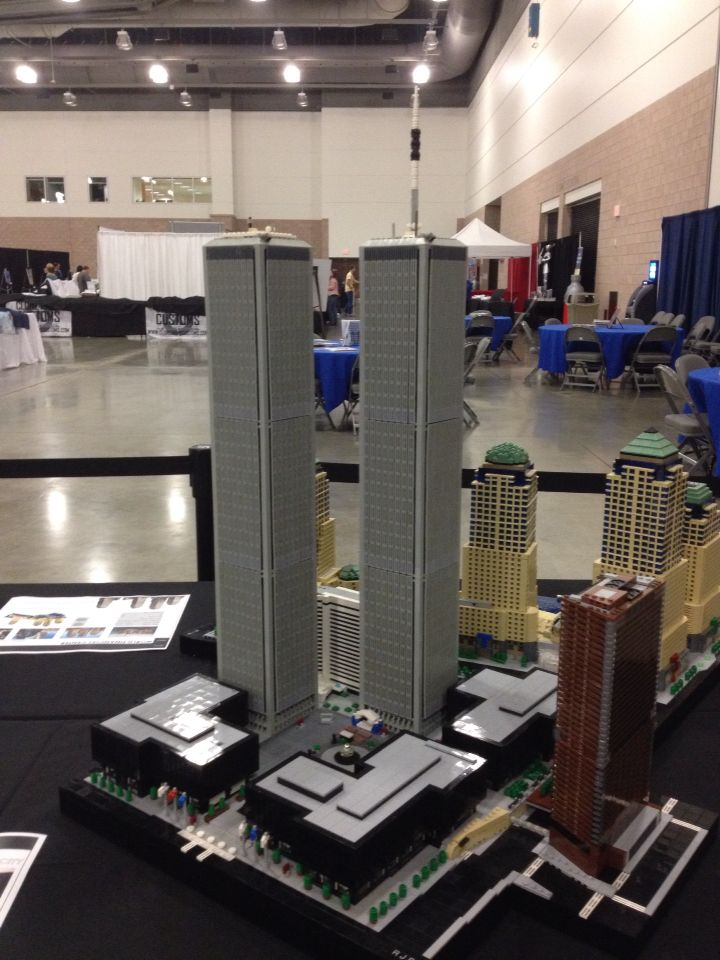 World Trade Centers in LEGO by Rocco Buttliere | picture taken at ...