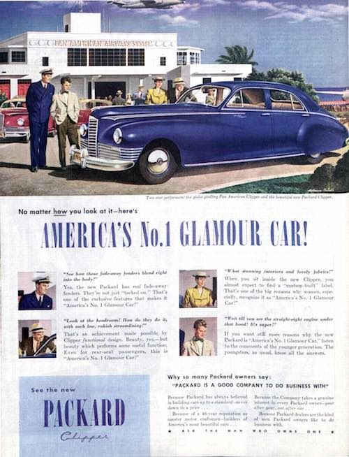 Ask The Man Who Owns One Packard Ads From 1908 1953 Automobile Advertising Packard Packard Cars
