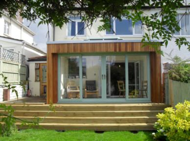Contemporary orangery garden room windows pinterest for Modern garden room extensions