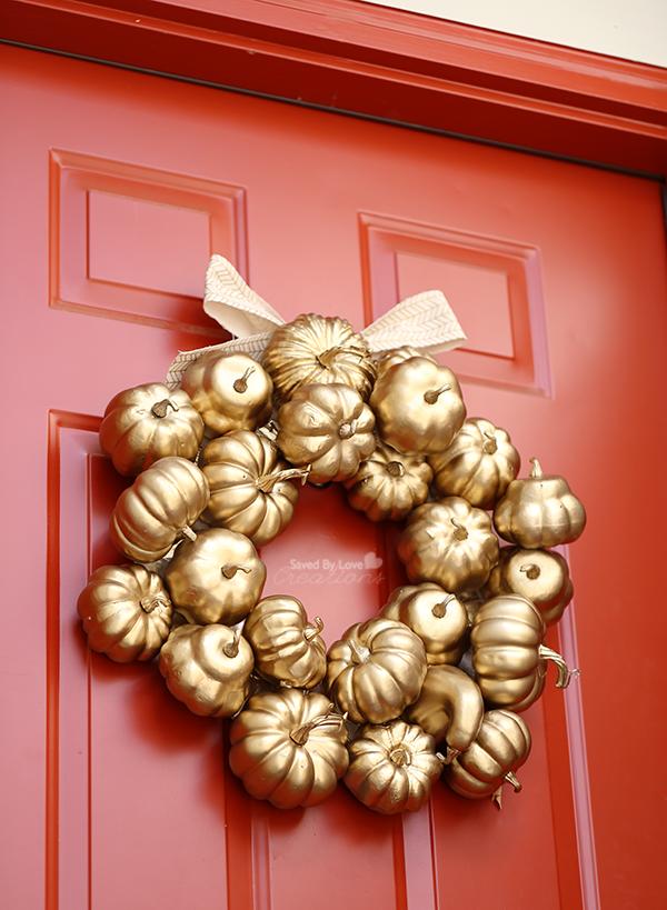How to Make a Fall Wreath Fall wreath