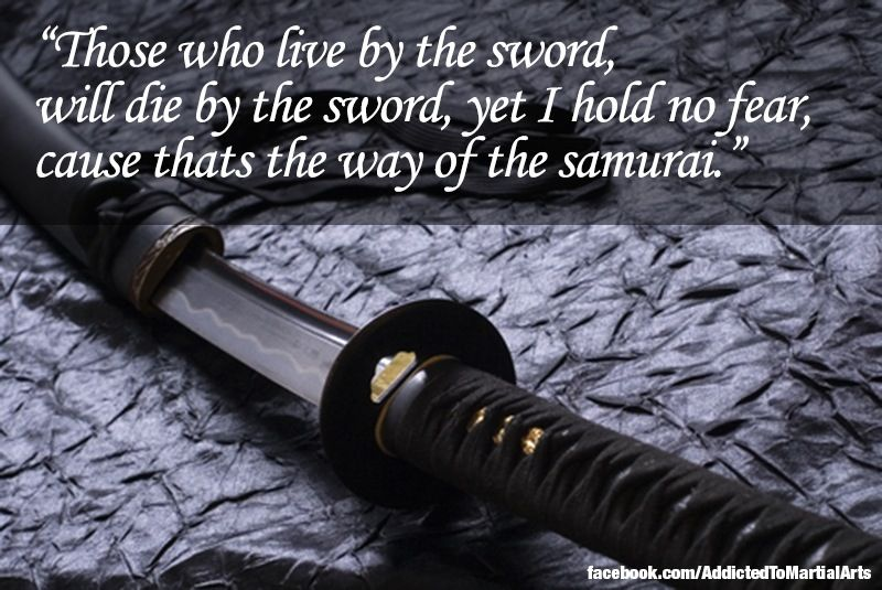 live by the sword die by the sword