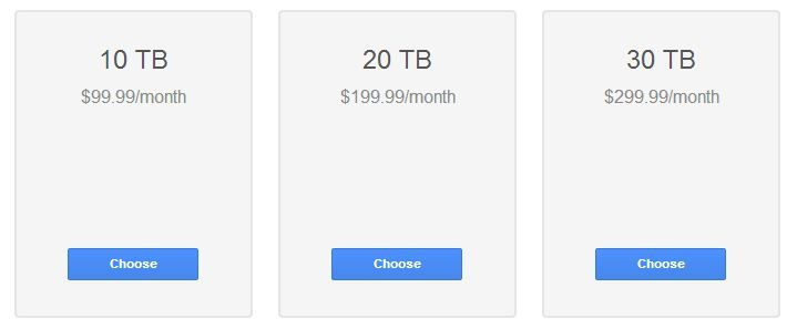 Google Reduced The Price Of Some Drive Plans Up To 80 Percent Still The Free 15 Gb Storage Is Available With A News Around The World Cloud Storage How To Plan