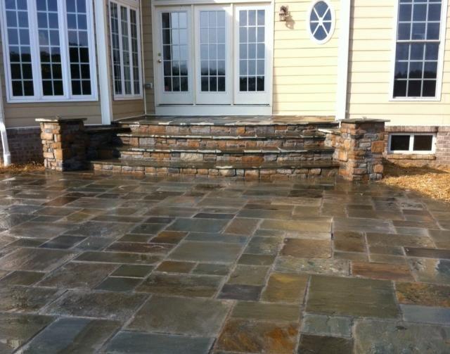 Elegant Stone Patio Steps Eldersburg MD.JPG