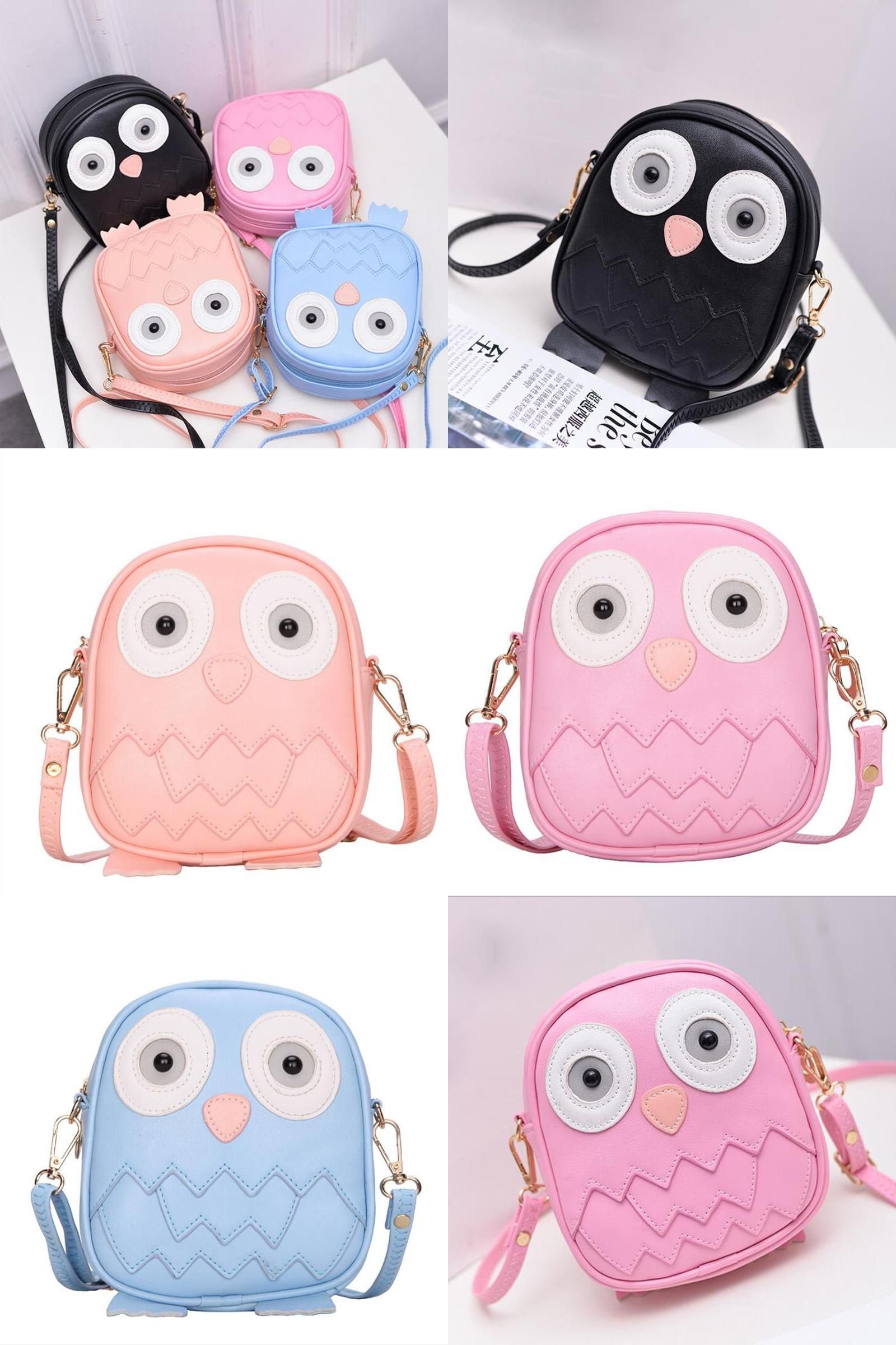 93babb7d59b1  Visit to Buy  QZH 2017 Summer Kids Girls Messenger Bags Cartoon Mini Cute  School