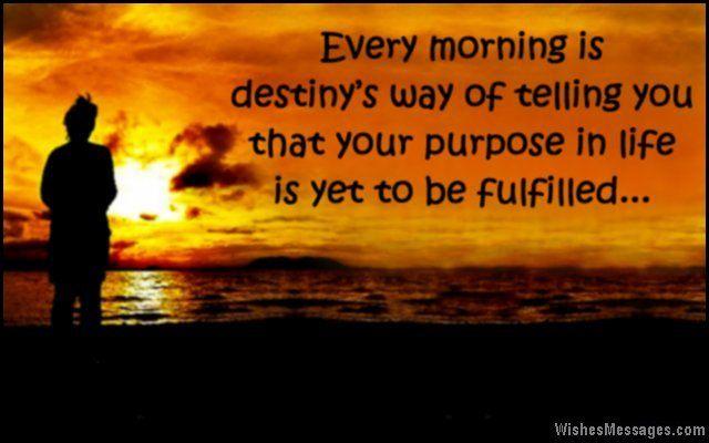 Inspirational good morning texts