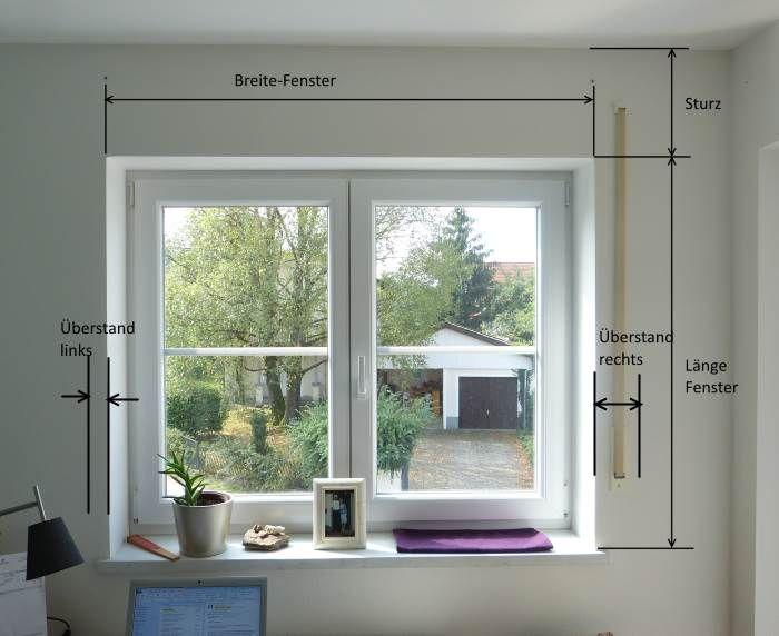 Raffrollo-ausmessen-01 Traumhaus Pinterest Salons, Living - Raffrollo Für Wohnzimmer