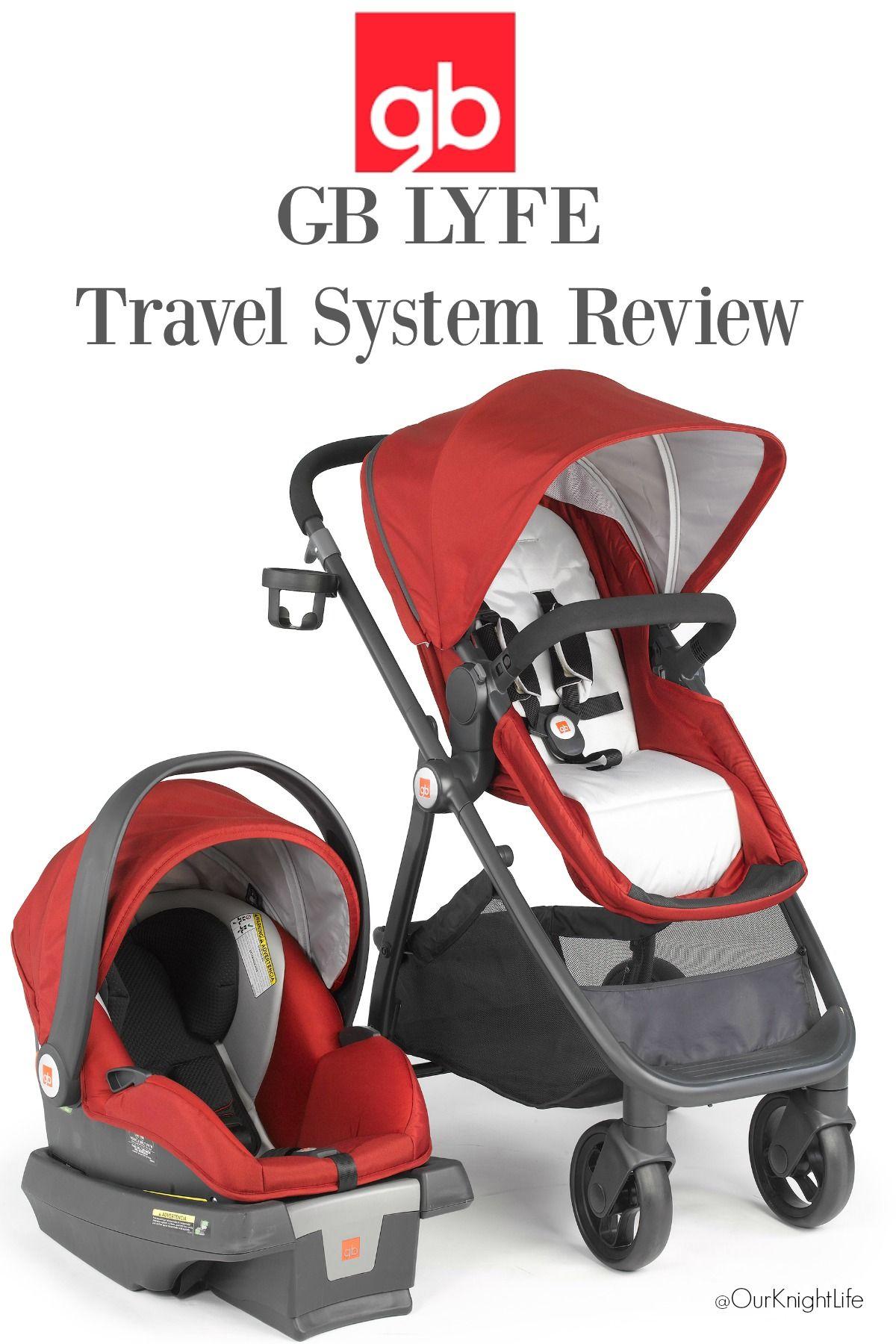 GB Lyfe Travel System Review, GB Lyfe Stroller and GB