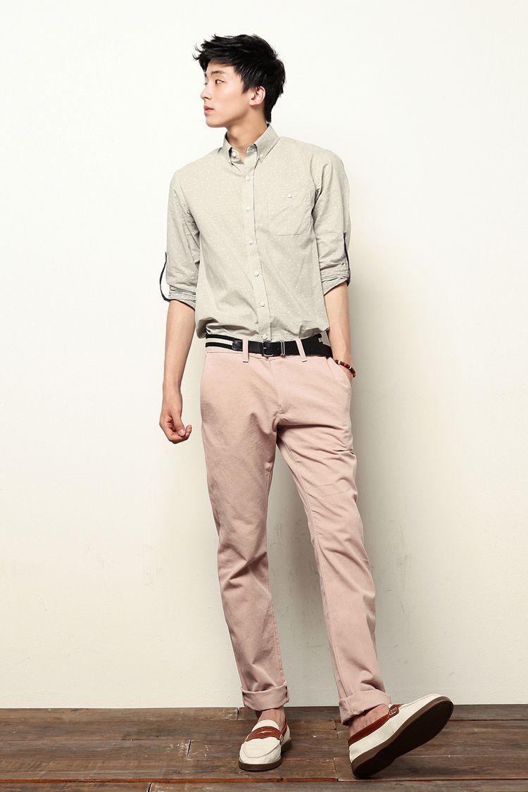 Soft pastels | Menswear Style | Korean fashion men ...