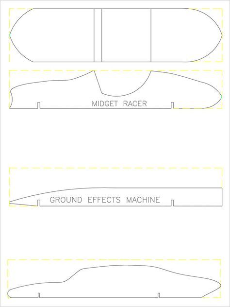 21+ Cool Pinewood Derby Templates - Free Sample, Example Format