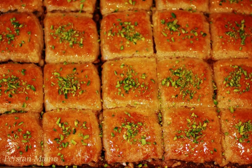 Baklava Cake Delightful Persian dessert for the upcoming Norooz