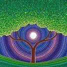 Happy Tree of Life by Elspeth McLean