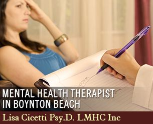Mental Health Therapist In Boynton Beach Mental Health Therapist