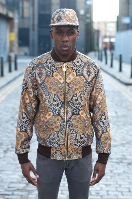 Miko Spinelli Autumn/Winter 2012 Menswear Collection: Premium Contrasting Cultural Prints & Patterns With Urban Sportswear Styles