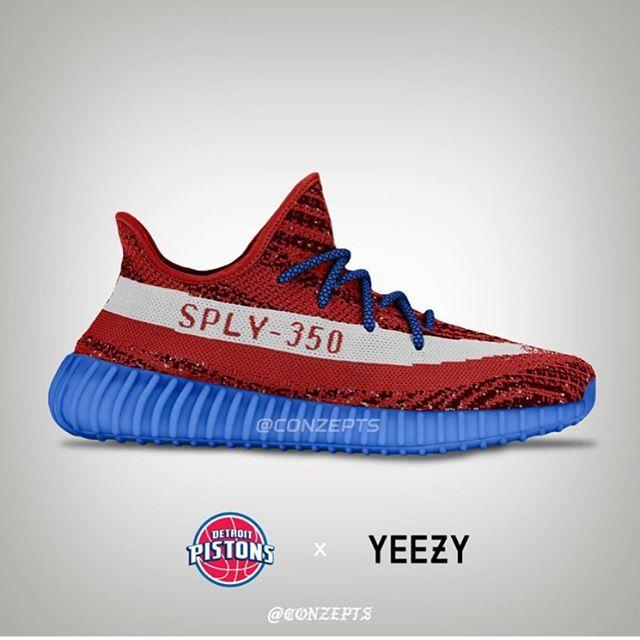 adidas Originals Yeezy 350 V2 x NBA