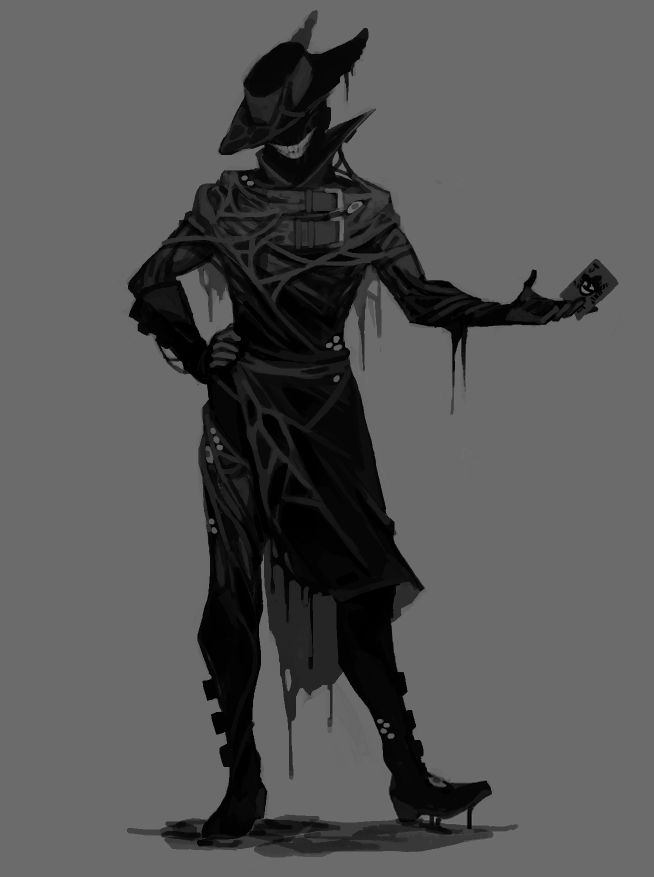 A Small Dump Of My Vaguely Spooky Character Designs Fantasy Character Design Character