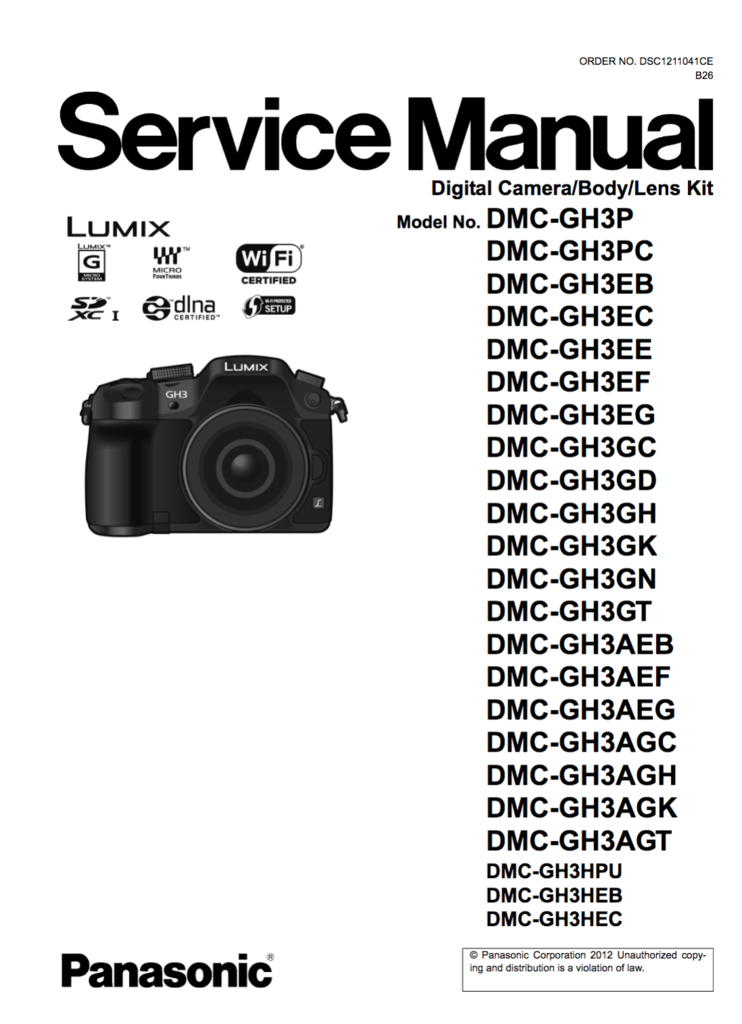 servicemanual lumix gh1 basic instruction manual u2022 rh carhireinusa co Panasonic GH1 Fila GH1