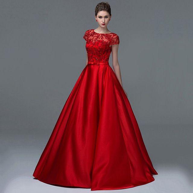 Vestidos rojos de boda 2017 | ❤❤❤...Vestidos Hermosos ...