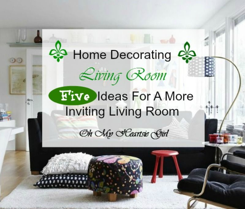Living room is usually the center place of the house – it's your home's heart. As the name of it says: it's a room for living.