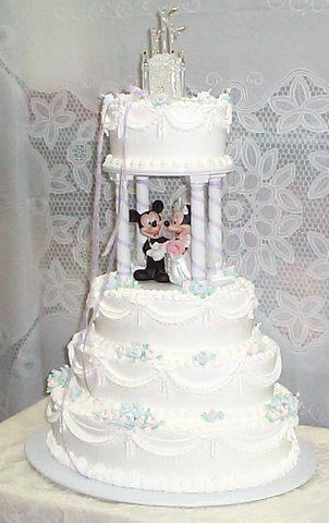 mickey minnie wedding cake pictures 2 mariage manouchkadesign