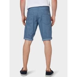 Tom Tailor Herren Josh Regular Slim Chino-Shorts, blau, unifarben, Gr.36 Tom TailorTom Tailor