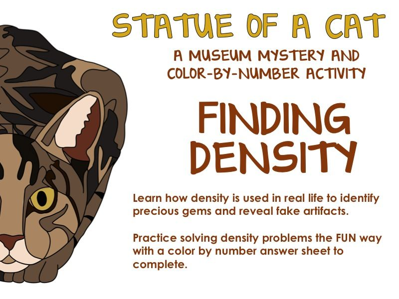 Density Practice Story Based Density Problem Solving Science For