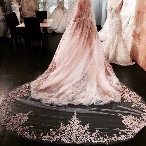 http://weheartit.com/entry/230714908 #wedding #dress #pink #dream