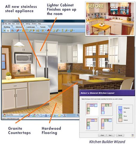 Virtual Architect Ultimate Home Design W Landscaping Decks 9 0 Kitchen Design Software Interior Design Software Kitchen Design Software Free