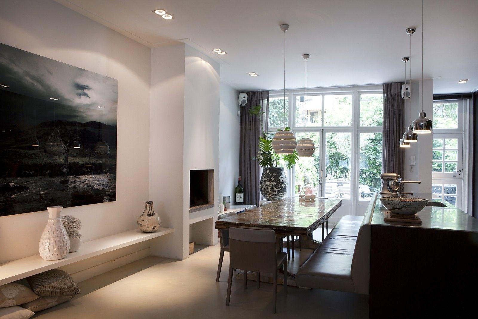 Verbouwing jaren \'20 pand met tuin en dakterras - Huis | Pinterest ...