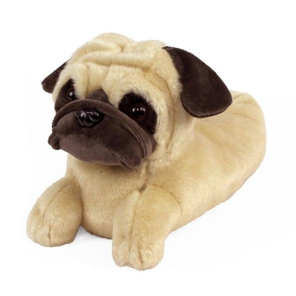 Pug Slippers Cv12o508inq Men S Shoes Pugs Slippers Dogs