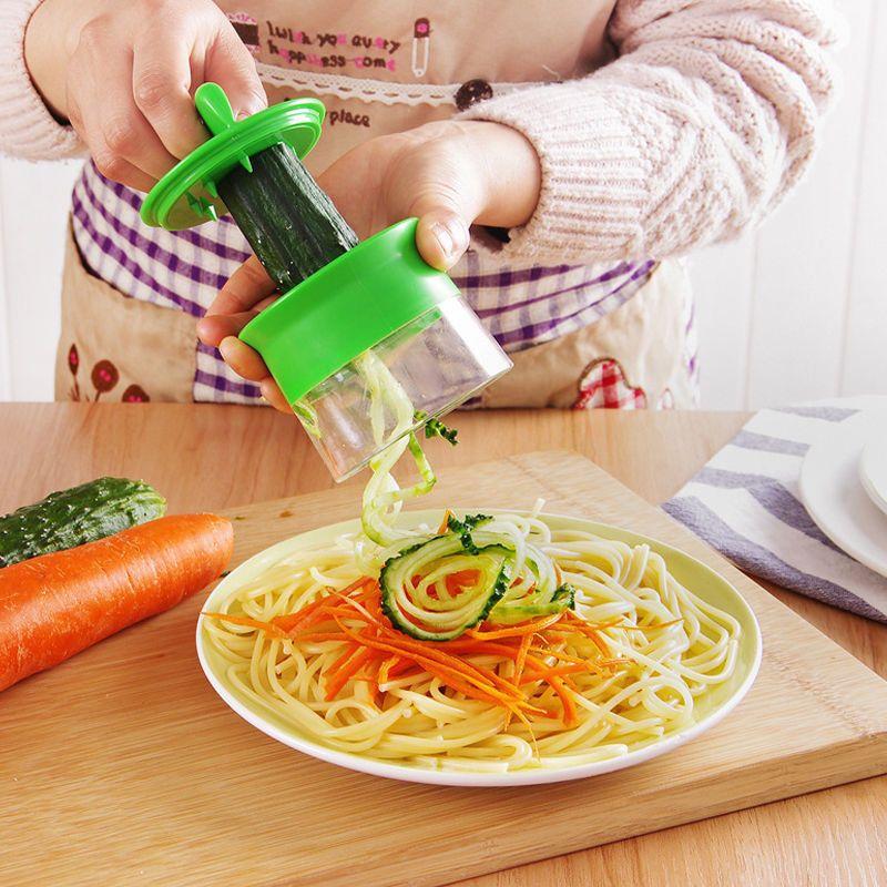 Slicer PeelerVeggie Sheet Fruit Slicer Vegetables Cutter Spiralizer Kitchen Tool