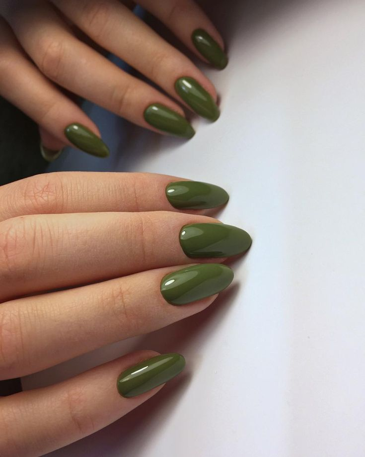 74+ Nail Polish Khaki Green | NAILS | Pinterest | Khakis, Makeup and ...