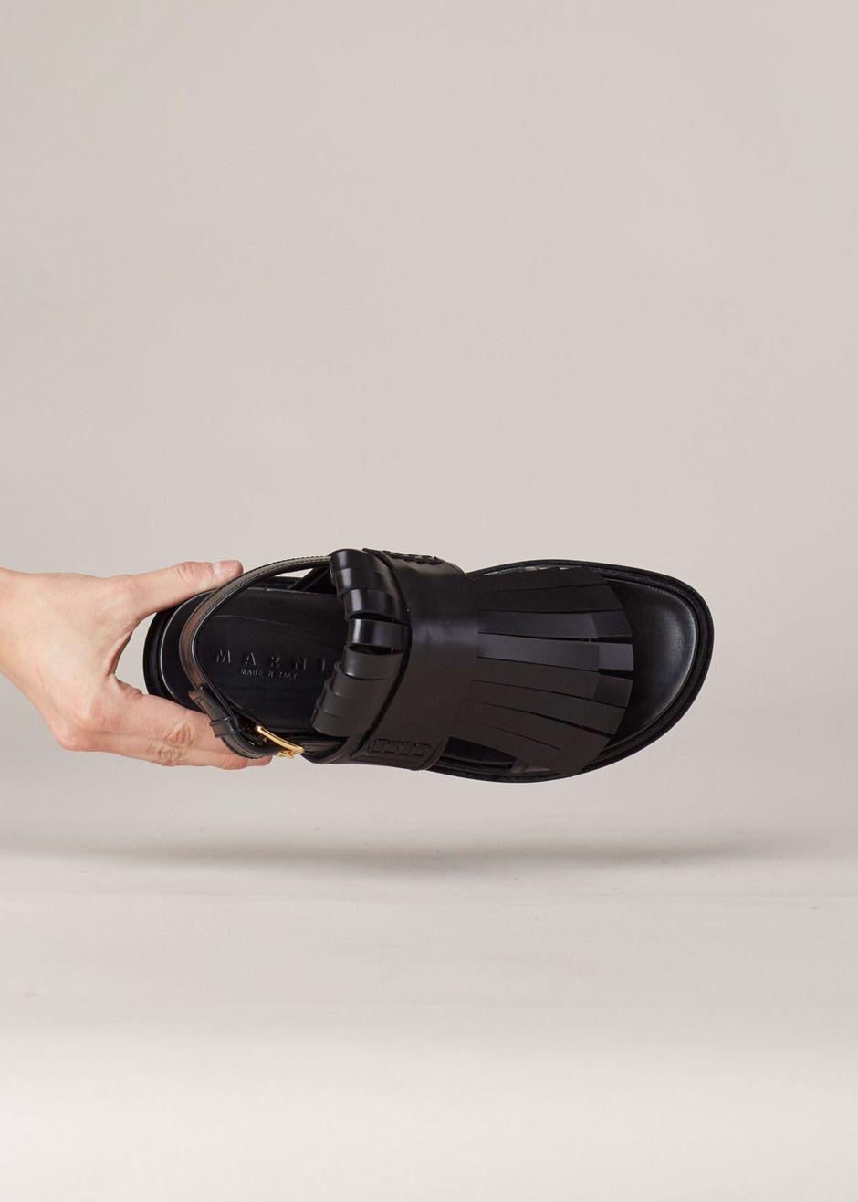 Marni Fussbett fringed sandals cheap professional Q7sjPe