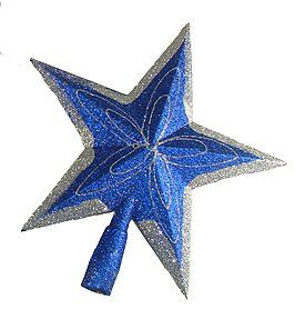 Blue /& Glitter Star Of David Hanukkah Tree Ornament Midwest CBK