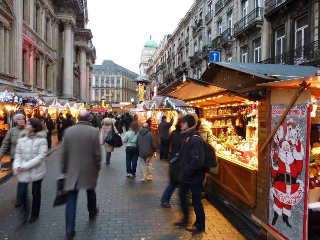 Brussels Christmas Market © Gary Bembridge