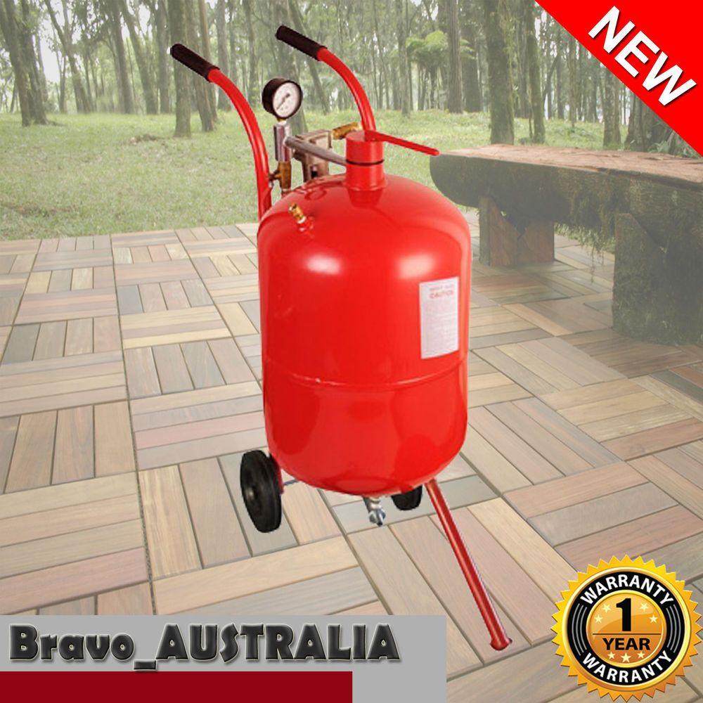 76l 20 gallon sand blaster blast pot portable pressure