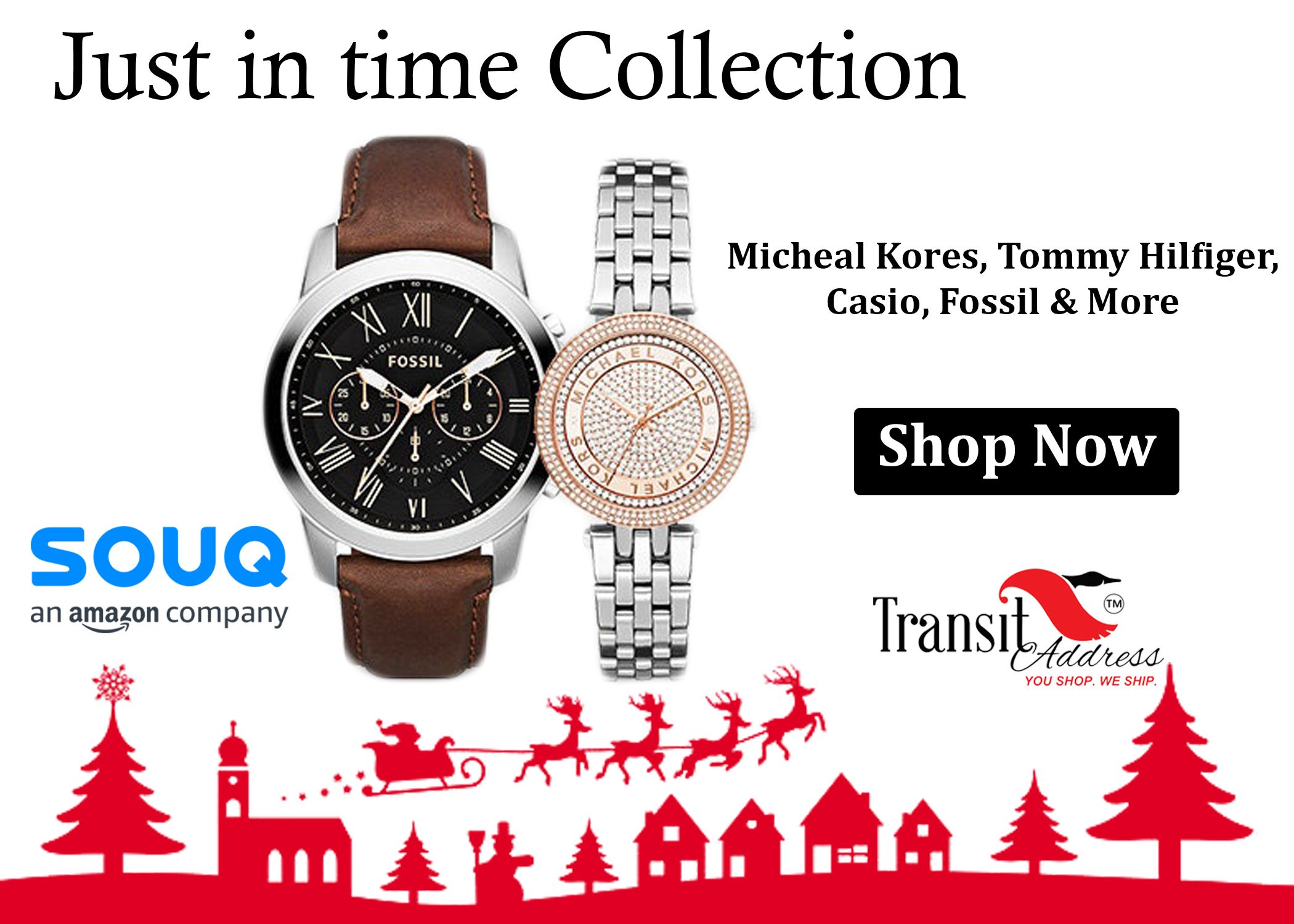 Just in time #watch #Collection on Souq #Shop globally and